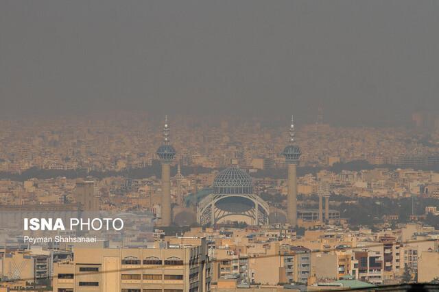 آلودگی هوای اصفهان موقتی است