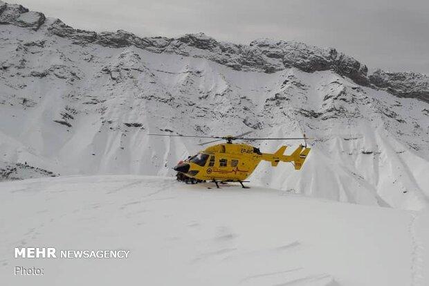 سقوط بهمن در ارتفاعات «واریان»/ یک کوهنورد جان باخت